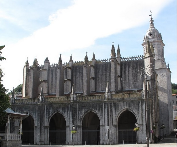 Basílica de La Asunción de Santa María en la villa de LekeitioAún no hay votaciones.