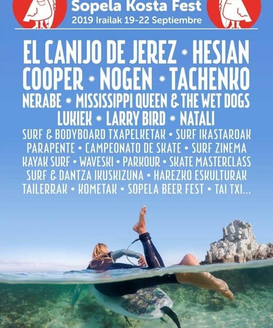 Sopela Kosta Fest, fiesta del Surf y la música en SopelanaAún no hay votaciones.