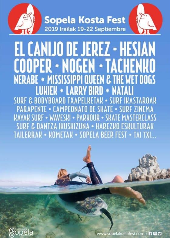 """Sopela Kosta Fest, fiesta del Surf y la música en Sopelana<span class=""""rating-result after_title mr-filter rating-result-1168"""" ><span class=""""no-rating-results-text"""">Aún no hay votaciones.</span></span>"""