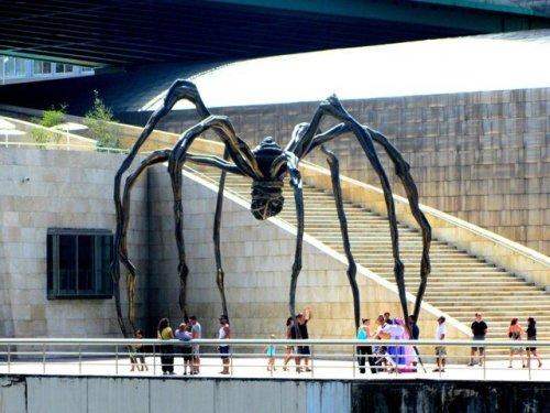 "La Araña Guggenheim, la escultura de ""Mamá"", de Louise Bourgeois"